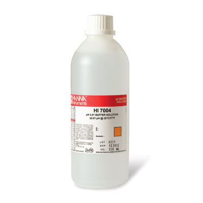 Hanna Instruments HI7004L pH 4.01 solution 480 ml