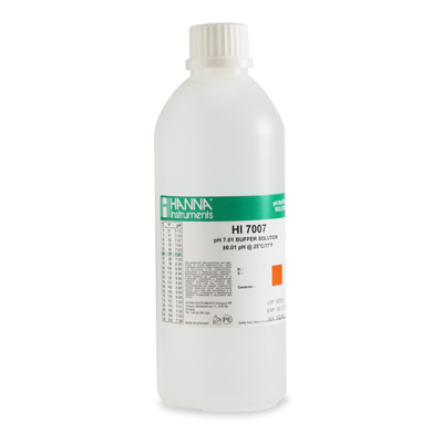 Hanna Instruments HI7007L pH 7.01 solution 480 ml