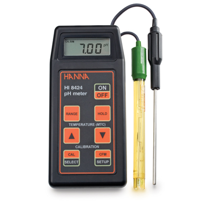 Hanna Instruments HI8424 Portable pH/ORP Meter