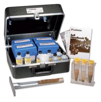 Soil test kits apps laboratories water testing for Soil nutrient test kit