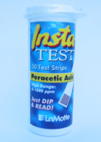 Lamotte 3000HR Peracetic acid 1000 ppm test strips