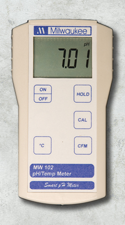 Martini Instruments MM-MW102 Portable pH / temp meter