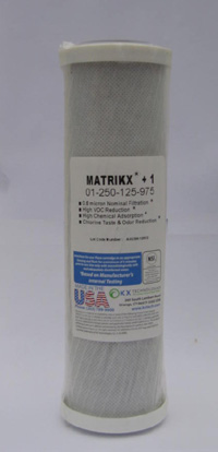 KX 01-250-125-975 Matrikx +1 carbon cartridge 10 x 2.5 i