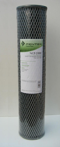 Pentek NCP-20 BB Pleated / carbon cartridge