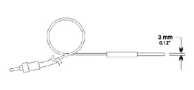 Hanna Instruments HI765W Wire thermistor probe - Click Image to Close