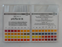 Macherey-Nagel 92110 pH-Fix pH test strips 0 - 14 - Click Image to Close